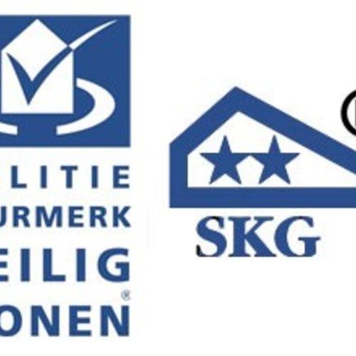 SKG *** & Politiekeurmerk Invited Smart Lock