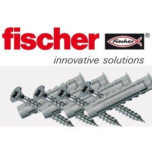 Schroevenset voor Baksteen- en betonmuren (met Fischer pluggen)