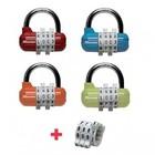 Masterlock Masterlock combinatiehangslot 1534 (leverbaar in vier kleuren)
