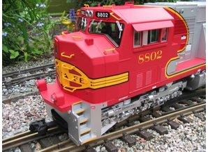 USA TRAINS SD 70 MAC Santa Fe Warbonnet