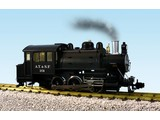 USA TRAINS Dockside 0-6-0 Santa Fe