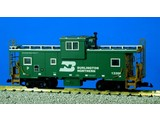 USA TRAINS Extended Vision Caboose Burlington Northern