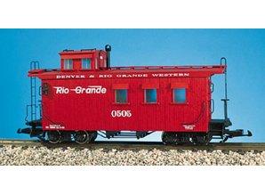 USA TRAINS Woodsided Caboose Rio Grande
