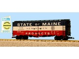 USA TRAINS 40 ft. Refrigerator Car State Of Maine - New Haven