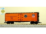 USA TRAINS 6.SET 4x 40 ft. Refrigerator Car Pacific Fruit Express - SP & UP