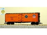 USA TRAINS 6.SET 4x 40 ft. Refrigerator Car Pacific Fruit Express - SP & UP