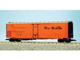 USA TRAINS 50 ft. Mech. Refrigerator Car Rio Grande