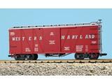 USA TRAINS Outside Braced Boxcar Western Maryland