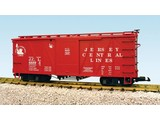 USA TRAINS Outside Braced Boxcar Jersey Central