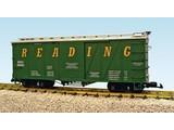 USA TRAINS Outside Braced Boxcar Reading