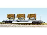 USA TRAINS Generator Flat Car Norfolk Southern beladen mit 3 Motoren