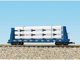 USA TRAINS Pipe Load Flat Car CSX Transportation beladen mit Rohren