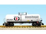 USA TRAINS 42 ft. Modern Tank Car Diamond Shamrock
