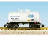 USA TRAINS Beer Can Tank Car J. M. Huber Corp.
