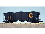 USA TRAINS Coal Hopper Chessie