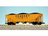 USA TRAINS Coal Hopper Peabody