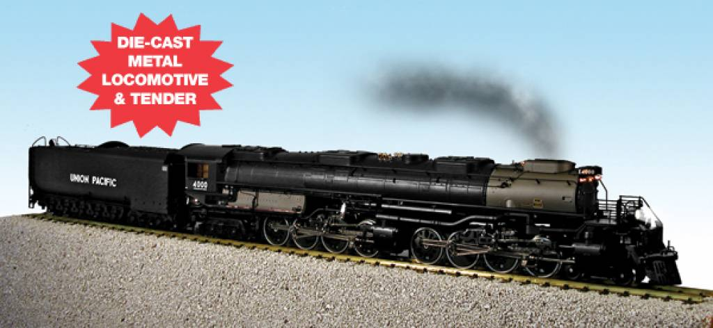 usa trains big boy union pacific roadnumber 4000. Black Bedroom Furniture Sets. Home Design Ideas