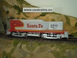 USA TRAINS NW-2 Santa Fe Warbonnet Calf Unit