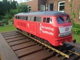 PIKO Diesellokomotive BR 218 mit DB Autozug Sylt Shuttle Beschriftung