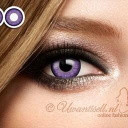 Kleurlenzen: 3 Tone Impressie Lenzen Violet