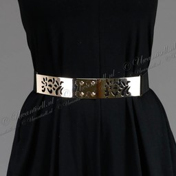 Gold Plate Taille Riem