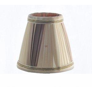 Klemkapje Klassiek Plooikap Punt Beige 11cm