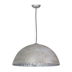 Hanglamp Mezzo Tondo Beton Grijs / Zilver 70cm Ø