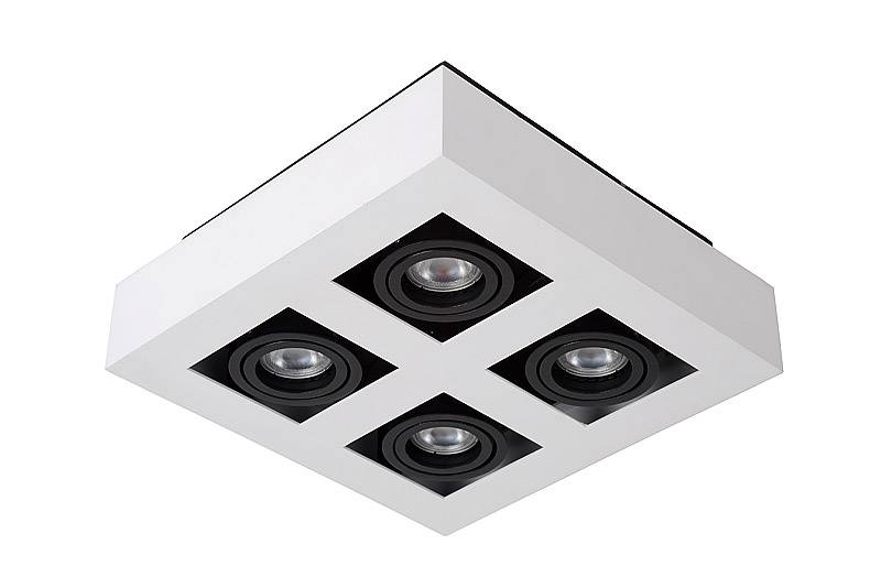Spot Xirax Wit 4 Lichts Led - Lampentoppers.nl
