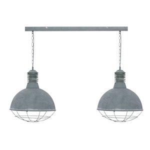 Hanglamp Vicenza Beton 2 Lichts