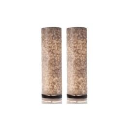 Tafellampen Set Full Shel Cilinder 2 Stuks
