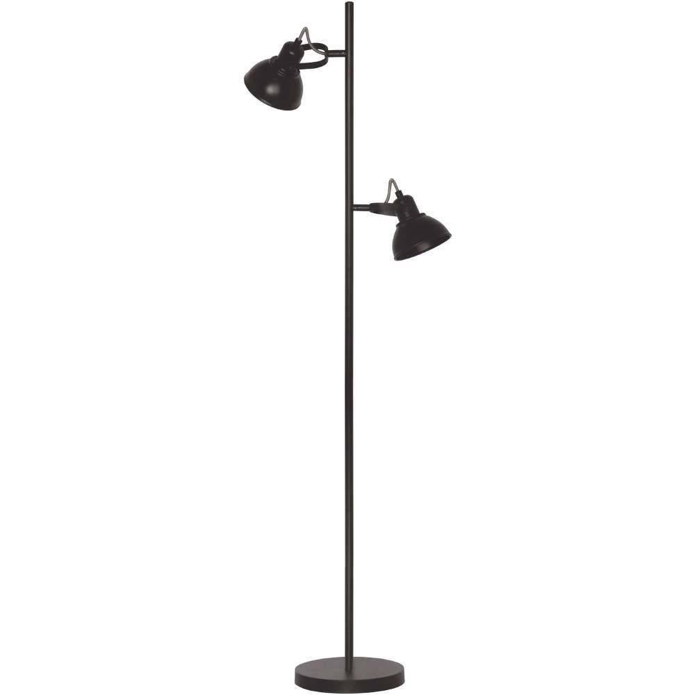 Vloerlamp Santo GU-10 LED Zwart