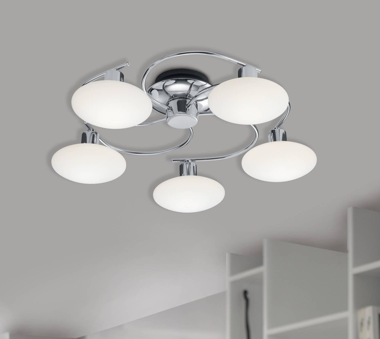 Design plafondlamp voor een gelijkmatige verlichting for Design plafondlamp