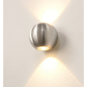 Wandlamp LED Denver ALU IP54
