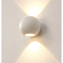 Wandlamp LED Denver WIT IP54