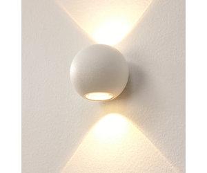 Badkamer Design Wandlamp : Bestel hier uw design wandlamp led denver wit ip lampentoppers