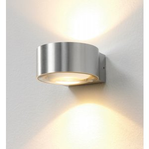 Wandlamp LED Hudson ALU IP54