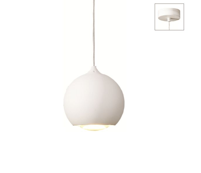 Hanglamp LED Denver WIT
