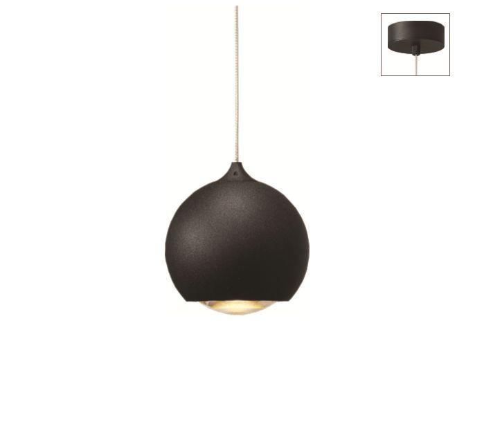 Hanglamp LED Denver ZWART