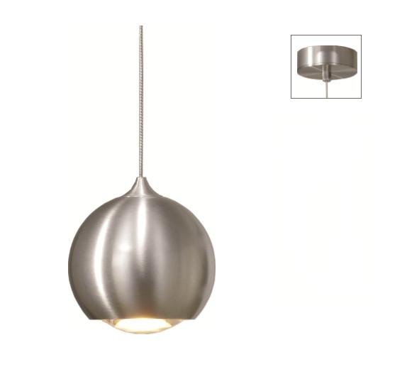Hanglamp LED Denver ALU