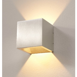 Wandlamp LED Cube ALU IP54