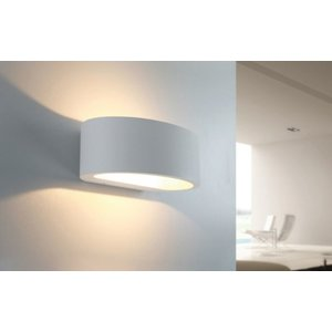 Wandlamp Sharp Led Wit IP54