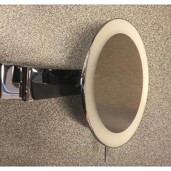 Badkamer opmaak/scheerspiegel IP44