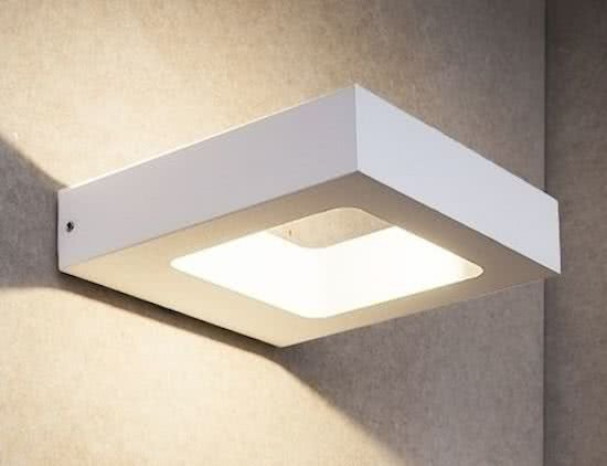 Buitenlamp Carre Wit Led IP54
