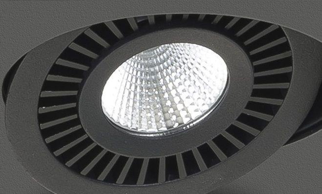 Spot Box Zwart Led 2 Lichts
