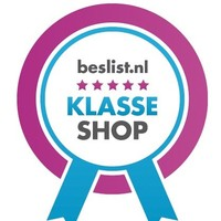 """Beslist.nl feliciteert Lampentoppers met hun """"Klasse Shop""""."""