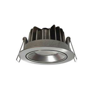 Inbouwspot LED Rond 10Watt IP44 Aluminium