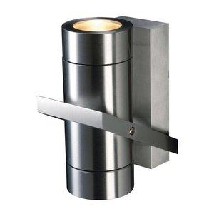 Wandlamp Double Aluminium IP54