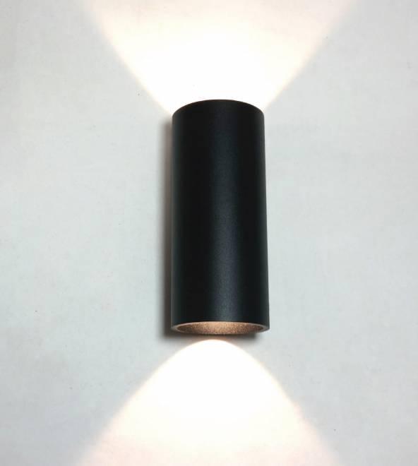 Wandlamp Brody Zwart Led IP54