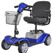 Opvouwbare Scootmobiel Kymco Mini LS Comfort Met Luchtbanden