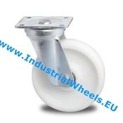 Drejeligt hjul, Ø 200mm, PolyamidHjul, 1000KG